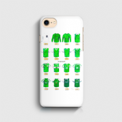 hibernian shirts  3D Phone case